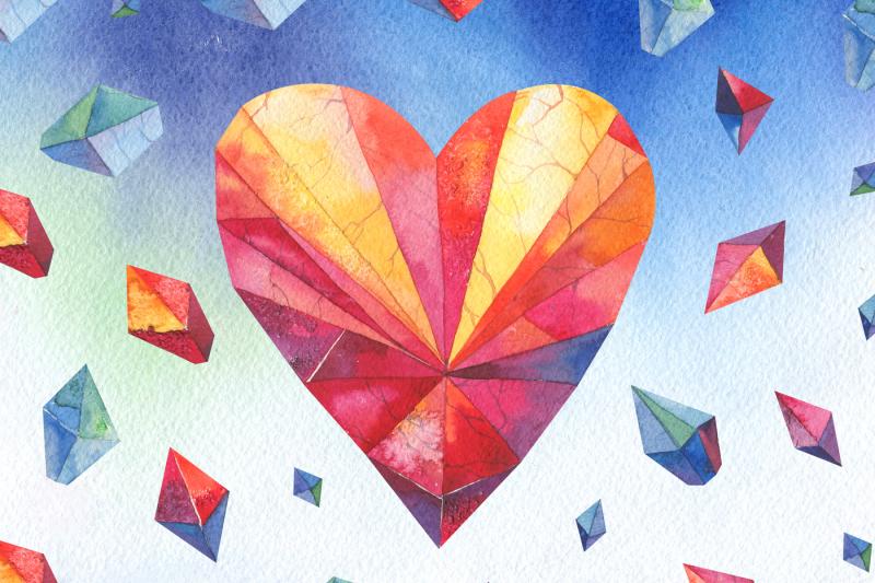 watercolor-crystals