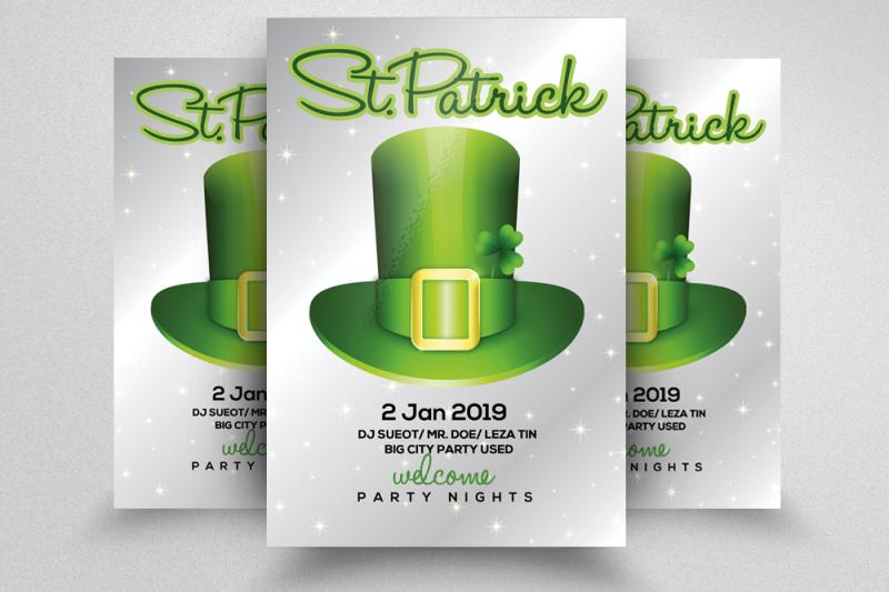 st-patricks-flyer-template