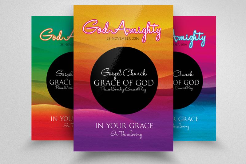 jesus-church-flyer-template