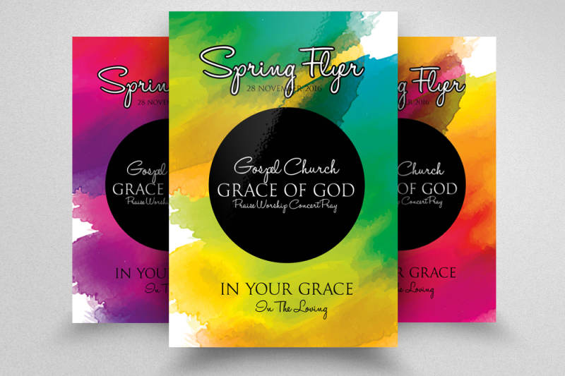 spring-festival-party-flyer-template