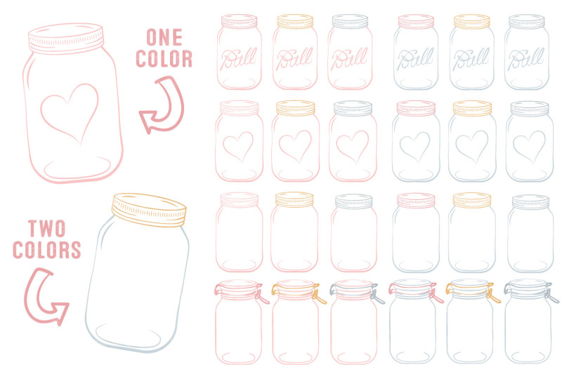 vector-mason-jars-clipart-in-soft-pink