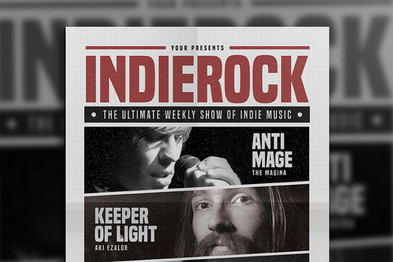 indie-rock-flyer