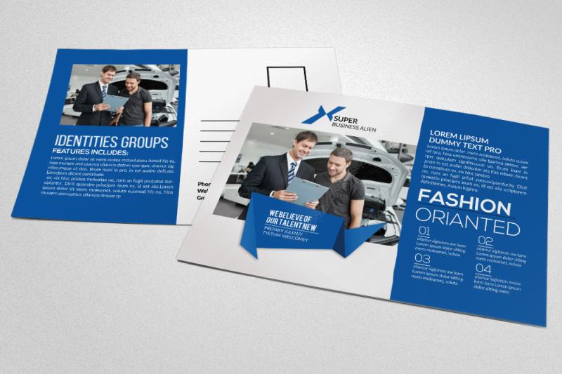 car-repair-service-postcard