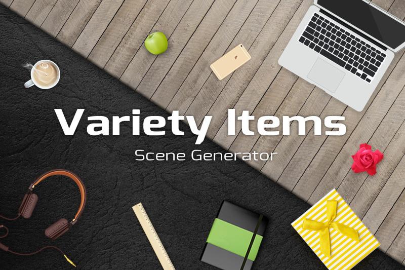 200-items-scene-generator