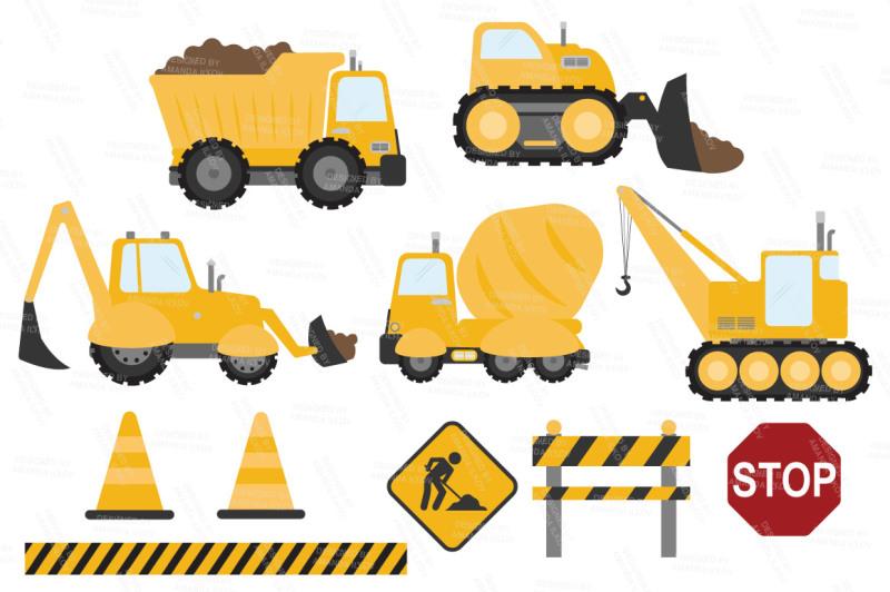 sunshine-vector-construction-trucks-clipart