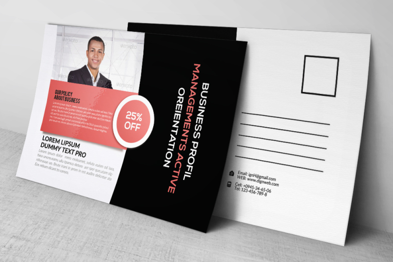business-training-agency-postcard