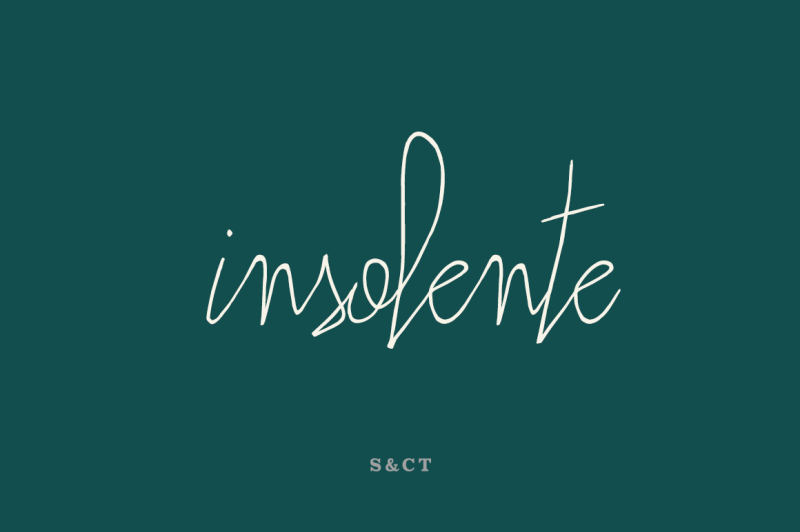 insolente-font-pack