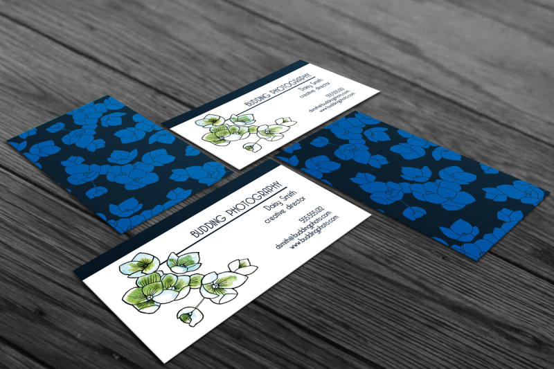blossom-business-card-template