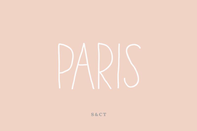 paris-font-pack
