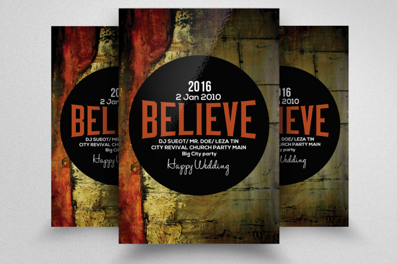 believe-church-flyer-template