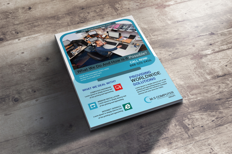 computer-and-mobile-repairing-flyer-template