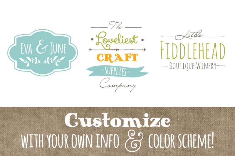 cute-premade-logo-templates-set-4