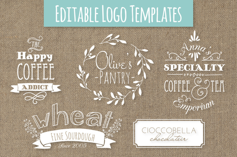 cute-premade-logo-templates-set-5