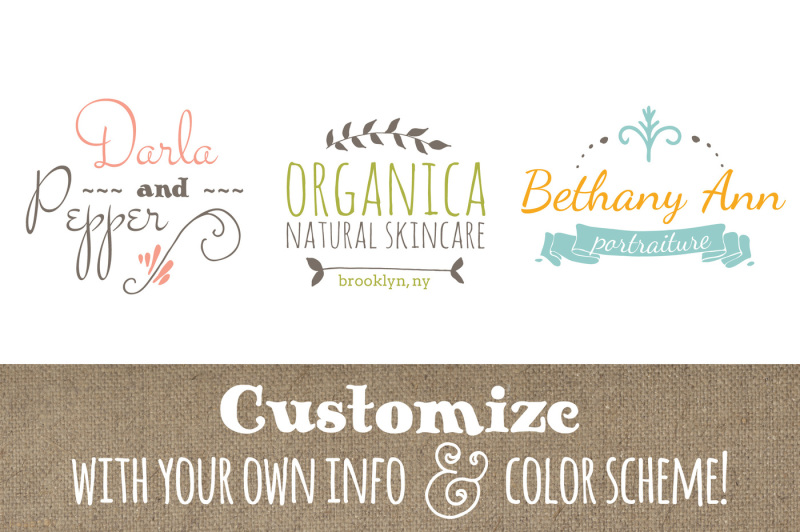cute-premade-logo-templates-set-7