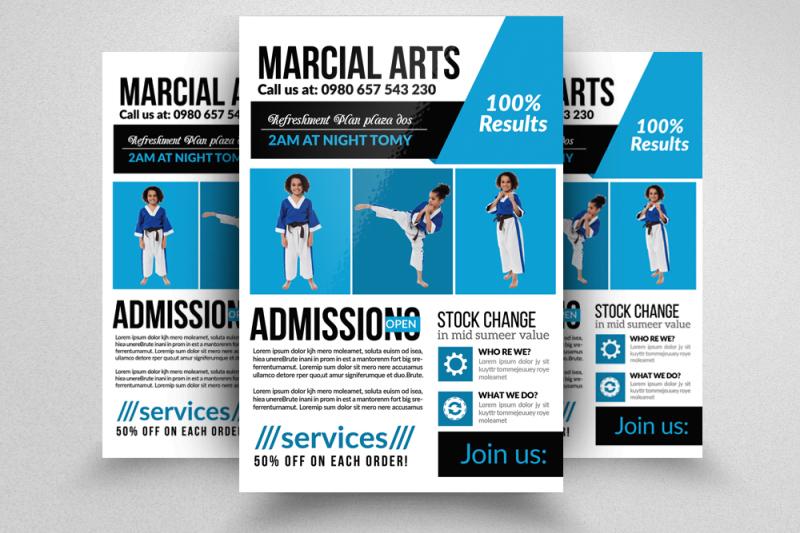 karate-martial-arts-trainning-flyer