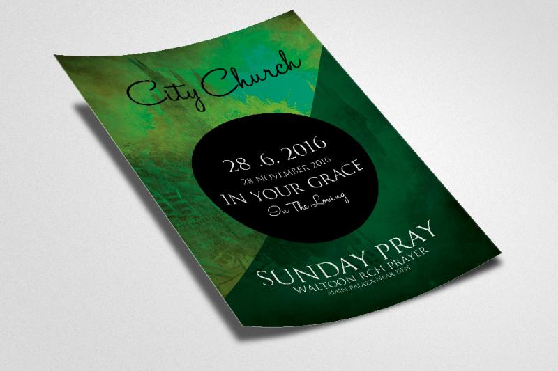 jesus-city-church-flyer-template