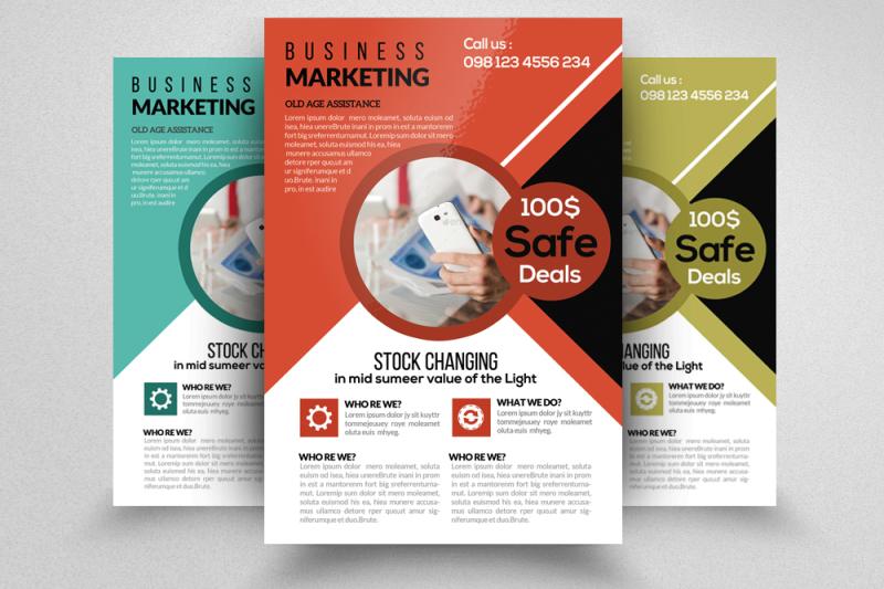it-technology-business-flyer