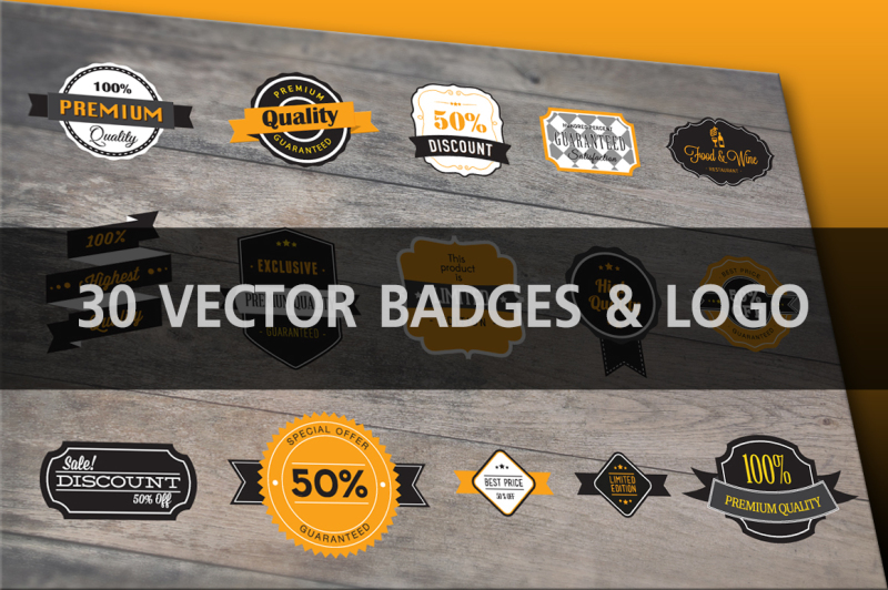 30-vector-badges-amp-logo