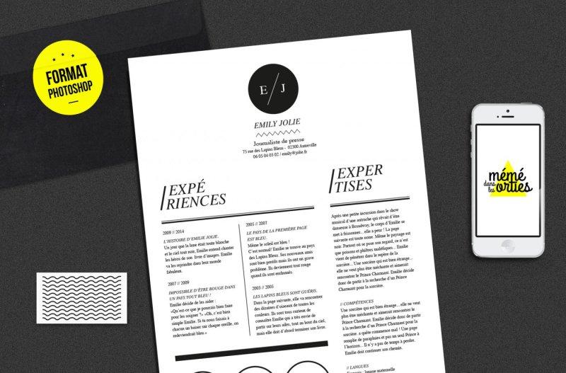 cv-emily-resume-template-photoshop