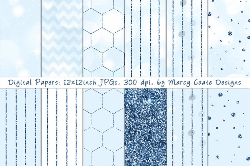 blue-bokeh-and-glitter-seamless-pattern-papers