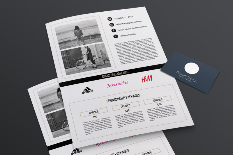 2-page-media-kit-template