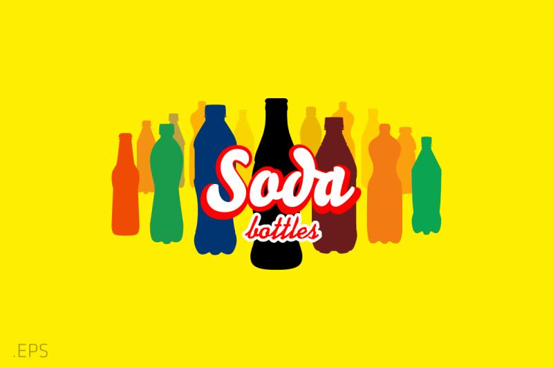 soda-bottles-vector