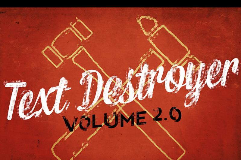 text-destroyer-vol-02