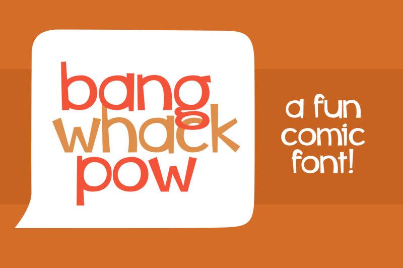 bang-whack-pow-font