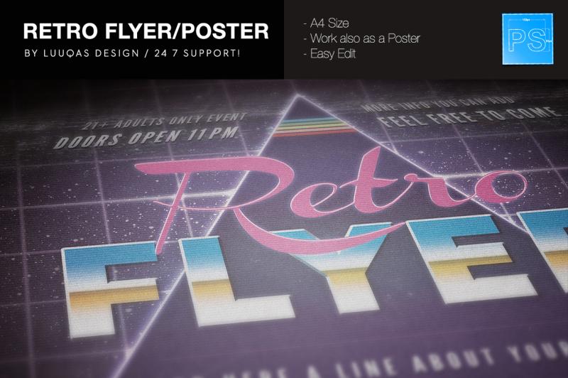 retro-flyer-poster