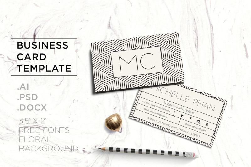 geometric-business-card-template