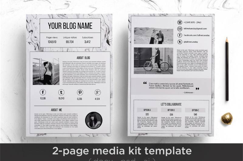 media-kit-template