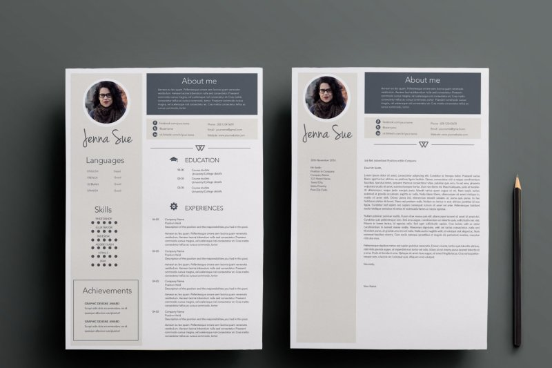 professional-resume-template-cover-letter-template