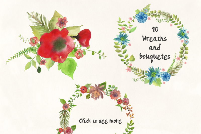 watercolor-flowers-and-leaves-pack