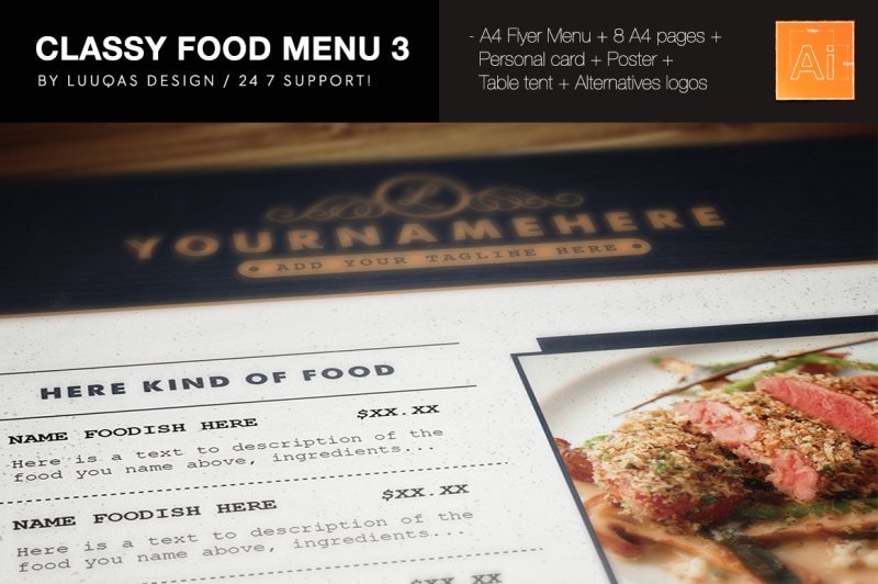 classy-food-menu-3-illustrator-template