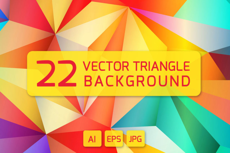 22-vector-triangle-backgrounds