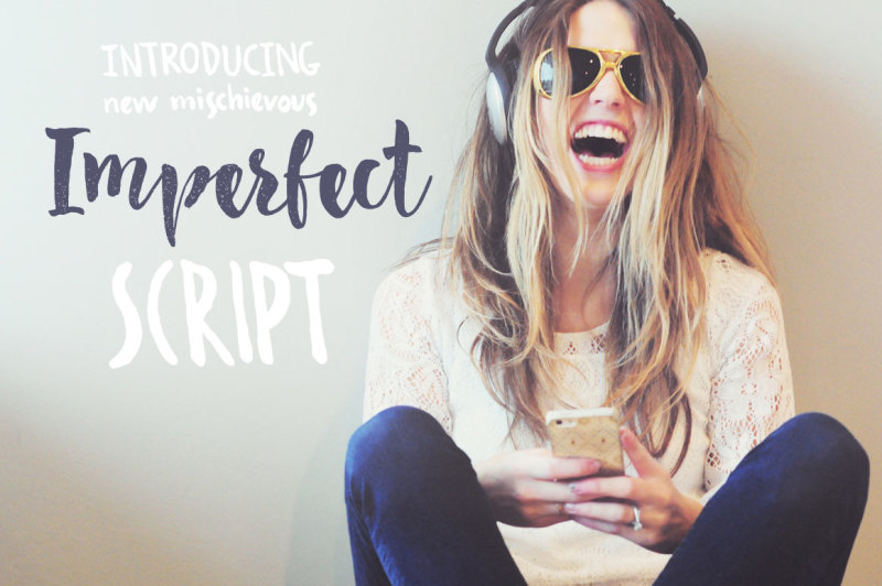 imperfect-calligraphy-script