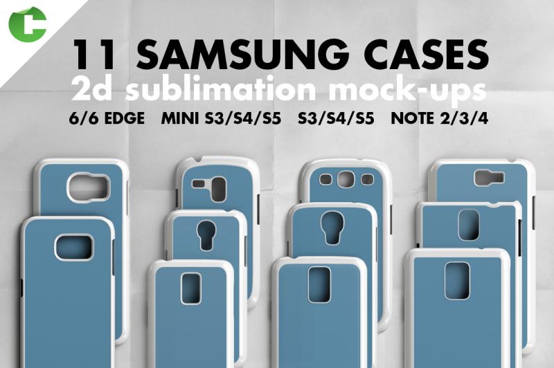 Free SAMSUNG CASE MOCK-UP 2d print (PSD Mockups)