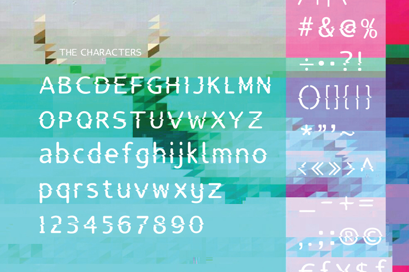 lucy-glitch-typeface