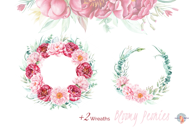 bloomy-peonies-watercolor-clipart