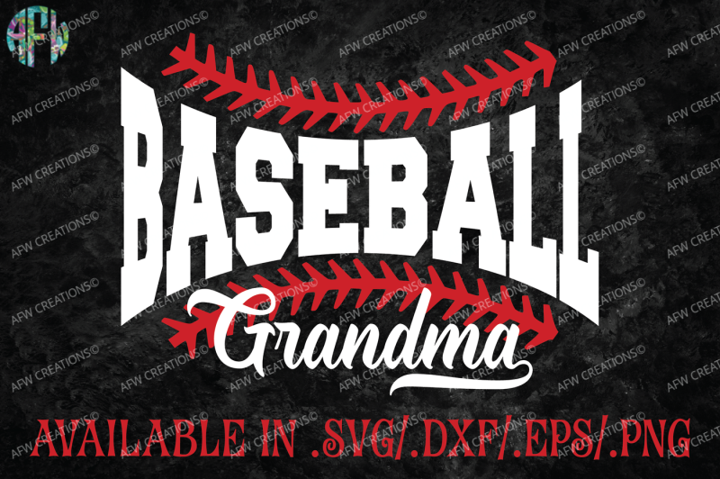 baseball-grandma-svg-dxf-eps-cut-file