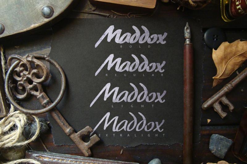 maddox-brush-typeface