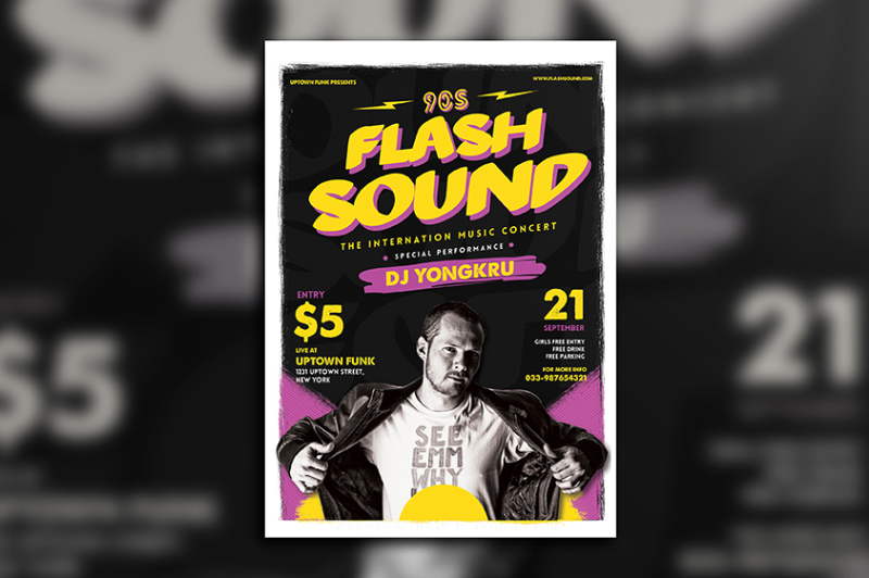 flash-sound-music-party-flyer
