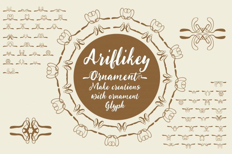 ariflikey-typeface