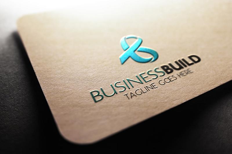 b-letter-logo-template