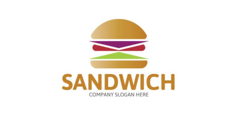 sandwich-logo-template
