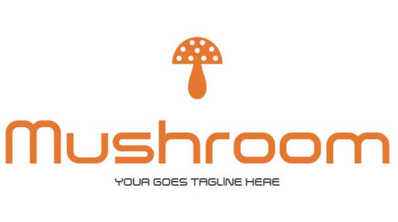 mushroom-logo-template