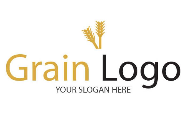 grain-logo-template