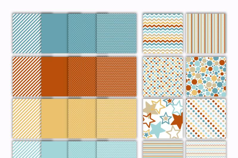 beach-colors-digital-papers