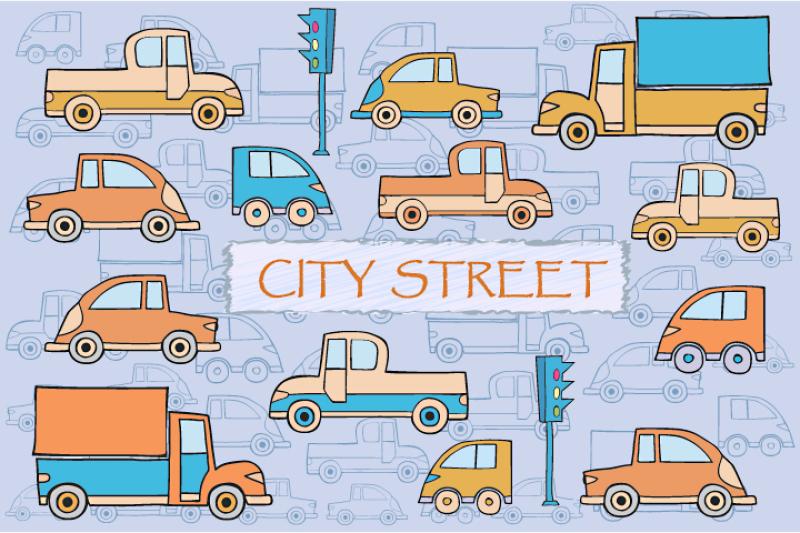 city-cars-and-trucks