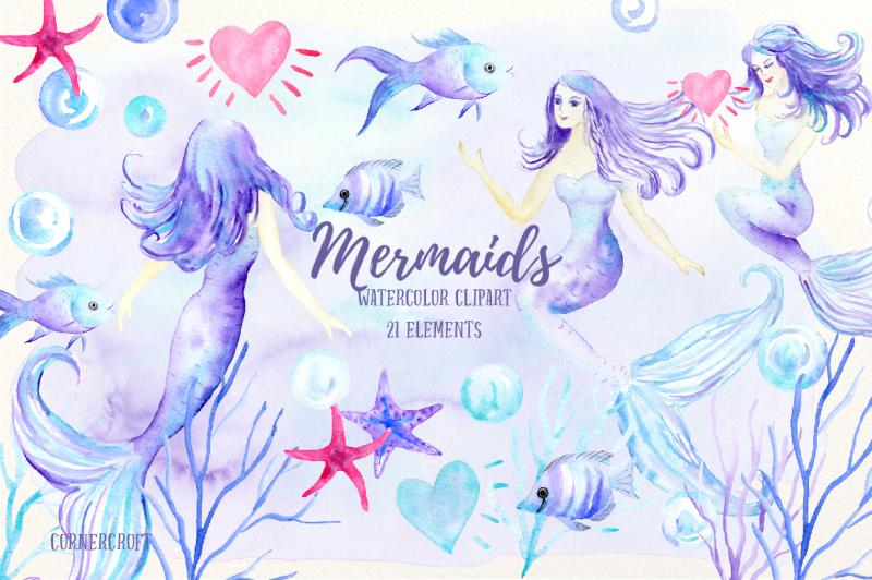 watercolor-mermaid-clip-art